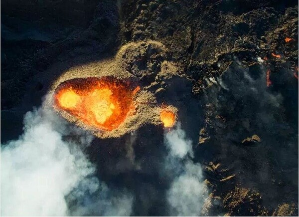 Best Aerial Photos of volcano